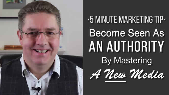 Become Seen As An Authority By Mastering A New Media