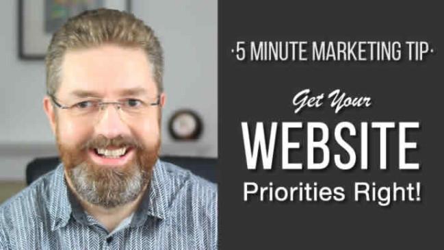 Get Your Website Priorities Right