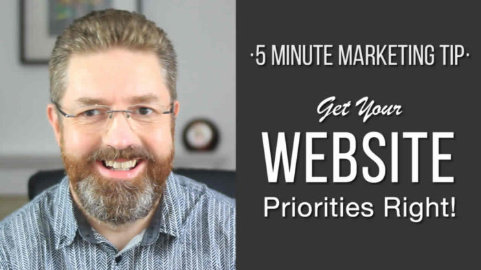 Get Your Website Priorities Right
