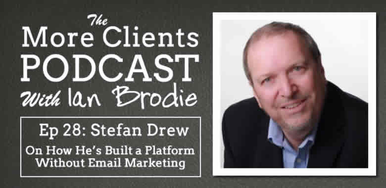 Stefan Drew on How He Built a Successful Platform Without Email Marketing