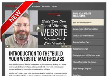 Build Your Own Client-Winning Website