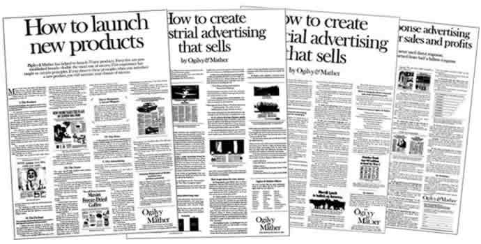 "These ""House Ads"" from Ogilvy & Mather from the 60s/70s Are Early Examples Of Valuable Content Being Used to Drive Sales"