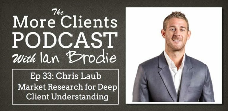Chris Laub on Market Research