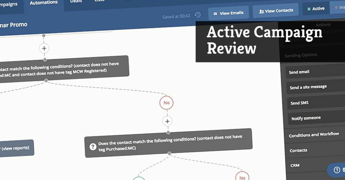 ActiveCampaign Review: The Best Email Marketing System?
