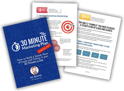 30 Minute Marketing Plan signup
